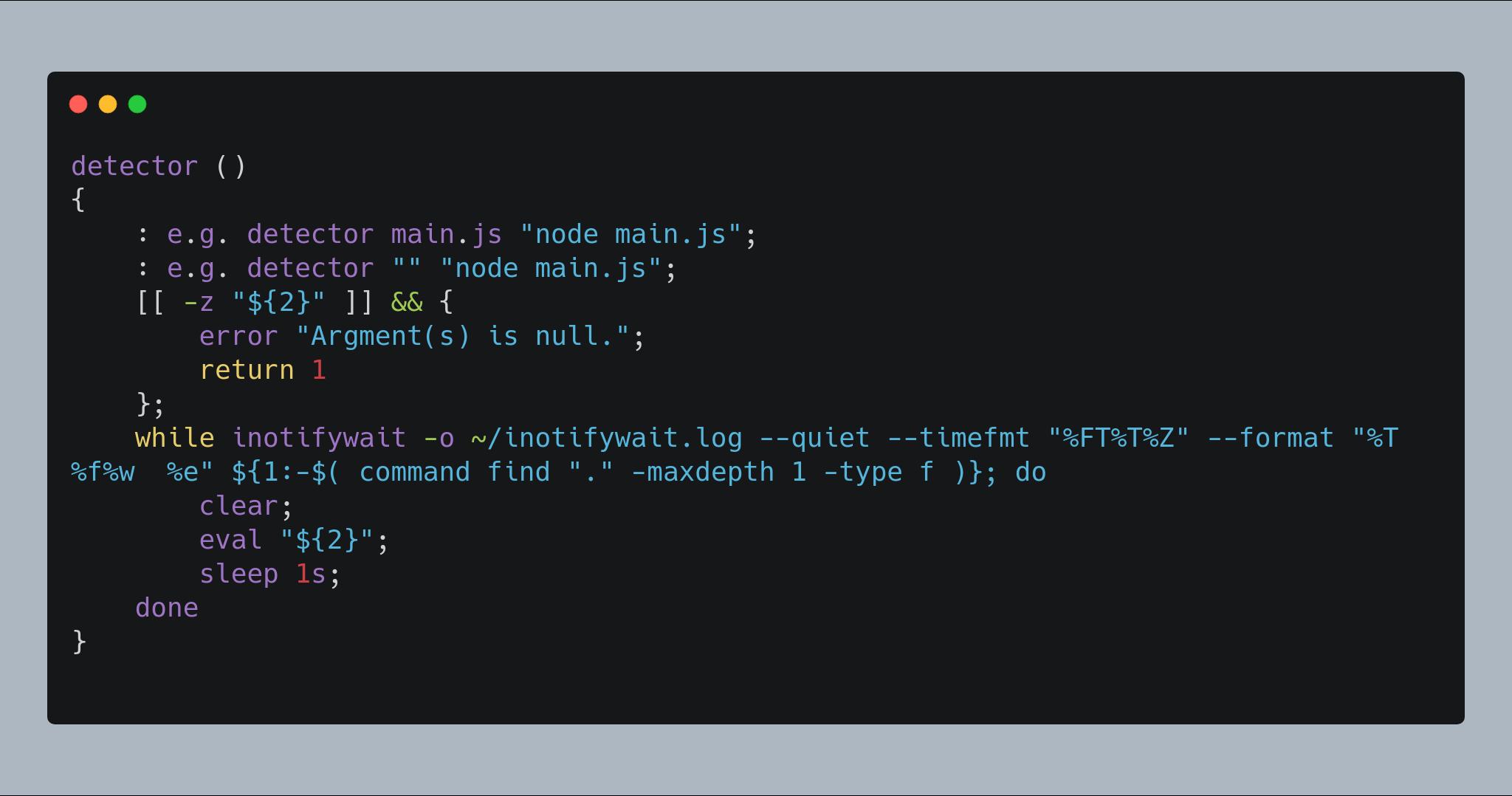 ,bash言語 コード