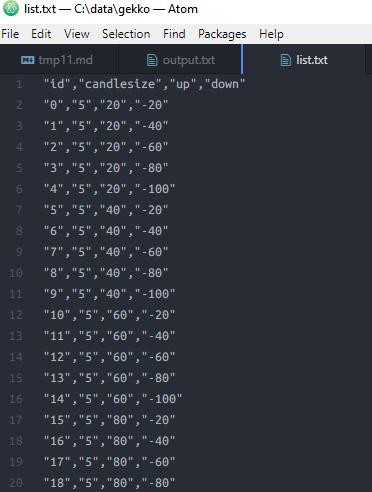 HTMLはプログラミング言語? csv